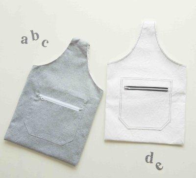 画像1: 型紙:ぺたんこバッグ