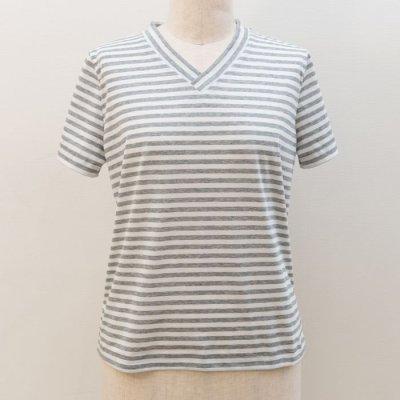 画像3: 型紙:VネックTシャツ