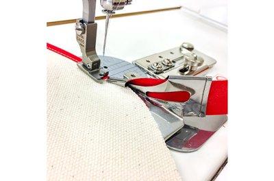 画像2: 【SUISEI】A1JUB 四つ折りバインダー細幅(押さえ金付き)