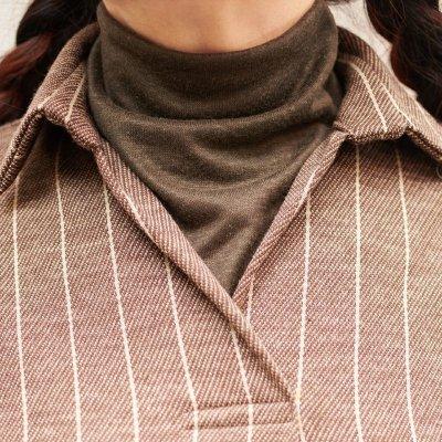 画像3: 型紙:ボトルネックウォーマー(付け衿)